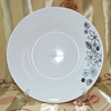 cheap china porcelain bowl and plate with red dot design