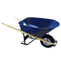 Contractor Grade Steel Tray Wheelbarrow