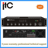 2U Rack mount type power 60w pa mixer amplifier