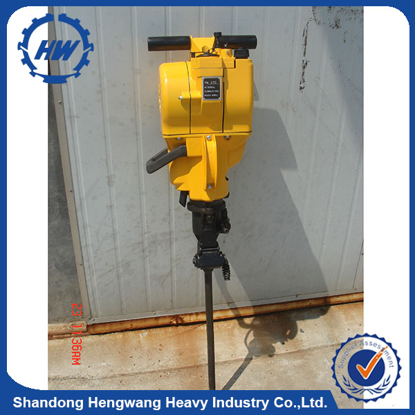 Portable YN27C Petrol Rock Drill gasoline paving breaker