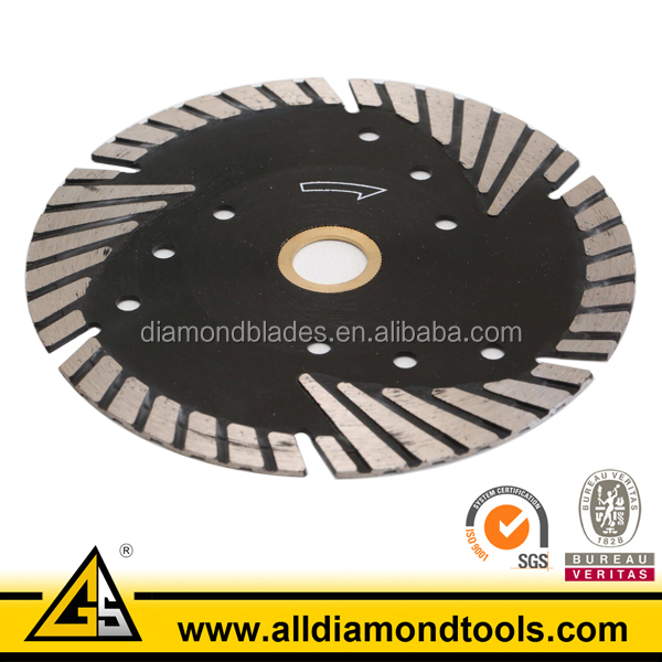 Turbo Rim Deep Cutting Granite Blade 5 Inch