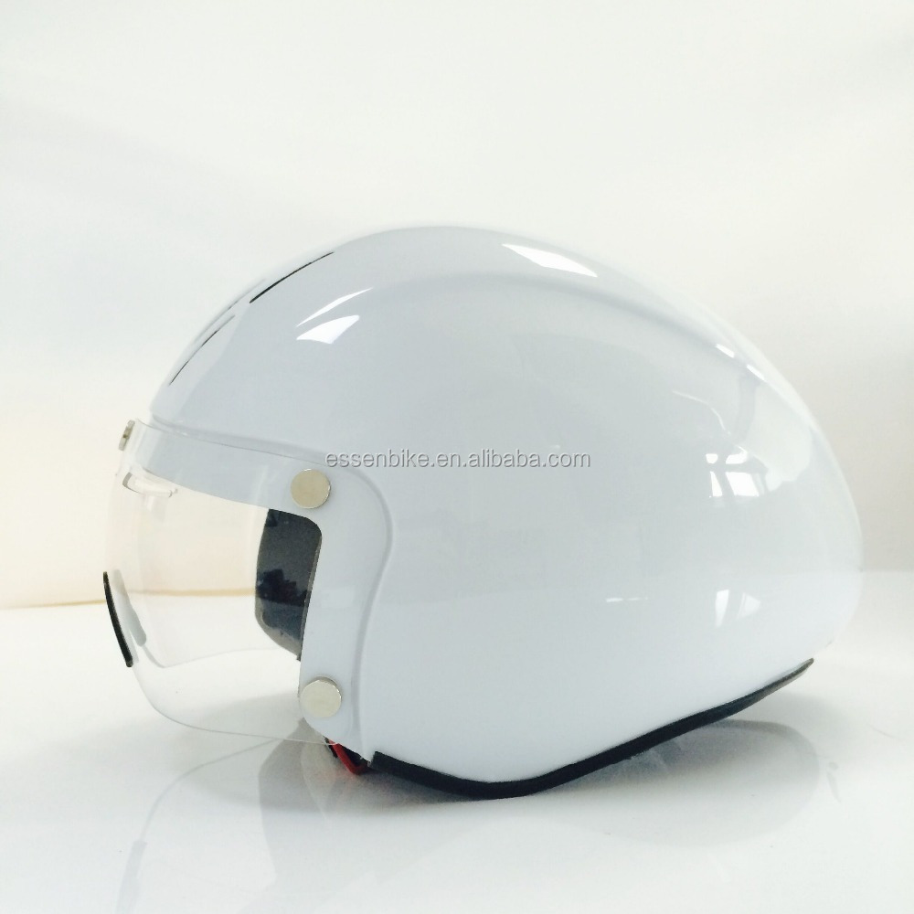 TT in-mold pc shell bike helmet with goggle for adult,racing helmet for cyclist from zhuhai city
