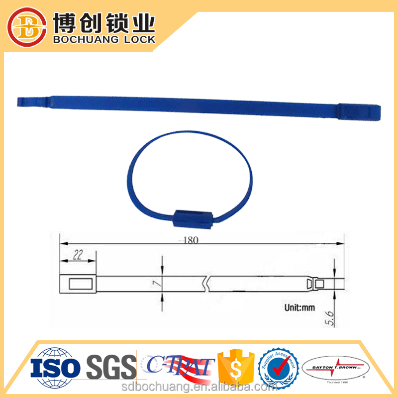 Pull Tight Plastic Seal for Money Tote Bags seals