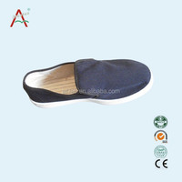 Anti static blue canvas shoes/ESD protective clean shoes/Safety shoes
