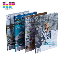 Shenzhen Manufacturer Wholesale Cheap Custom Full Color Printing Advertising A4 Chinese Fashion Adult Comic Magazines