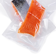 Frozen food,meat, fish Use textured plastic vacuum sealer bag