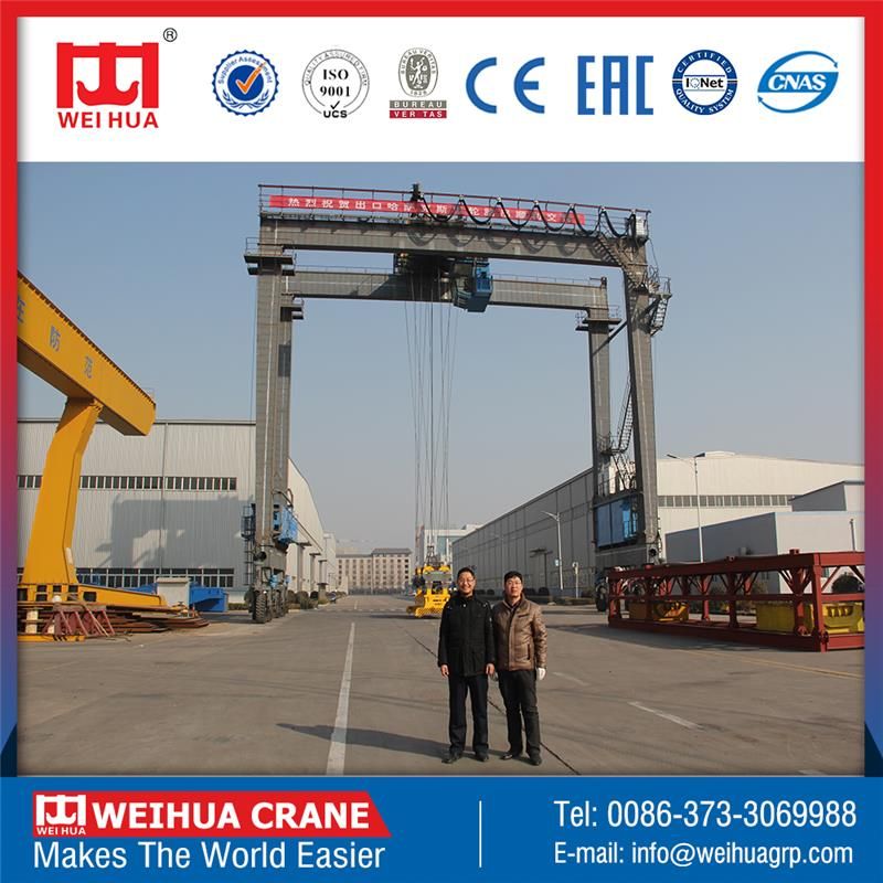 CE Certificated gantry craen 100 ton with high quality