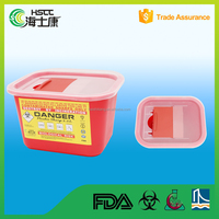 Cheap Plastic Sharps Containers/Sharp Box