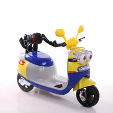 2017 kids motorcycle bike mini ride on plastic with Chinese factory