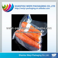 factory food resealable vacuum plastic sealer bag for storage food