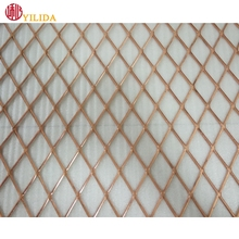 Protecting mesh application and galvanized steel wire material grill expanded metal mesh