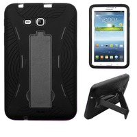 Alibaba express hot sell OEM wholesale PC+Silicone cover heavy duty tablet case for Samsung Galaxy Tab 3 Lite/T110