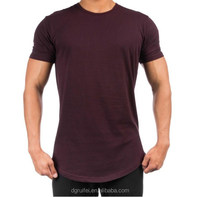 wholesale gym t shirt 2017 new hot mens slim fit t shirt custom your brand bodybuilding t shirt