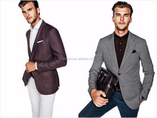 casual blazer tailored elegant fashion custom suits for men half canvas brand name mens suits