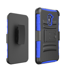 Belt clip holster combo phone case for zte max pro z981