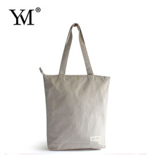 2015 top designer environmental simple fashion linen tote bag