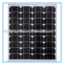 High-efficiency 30 watt mono panels solar with TUV certificate