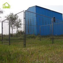 easy to clean hot dipped galvanized metal outdoor large dog kennels