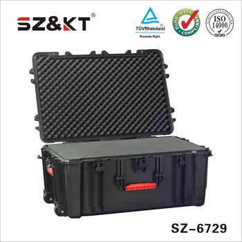 plastic carrying case with foam