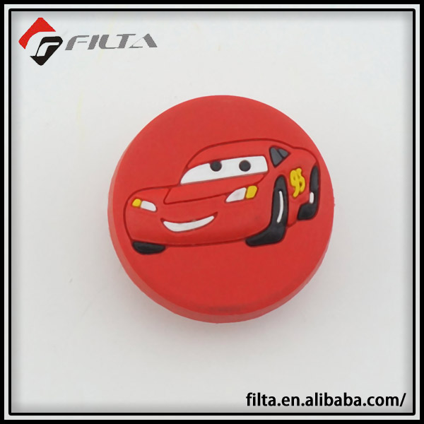 Rubber cars kids cabinet knob