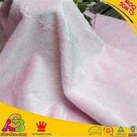 Hot selling 2015 new design SGS checked skin friendly plain style minky dot chenille fabric