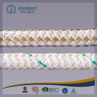 White Polyester Double Braided Rope For