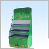 Storage rack from China factory high quality retail countertop 3 tiers paperboard display stand for fruits and vegetables