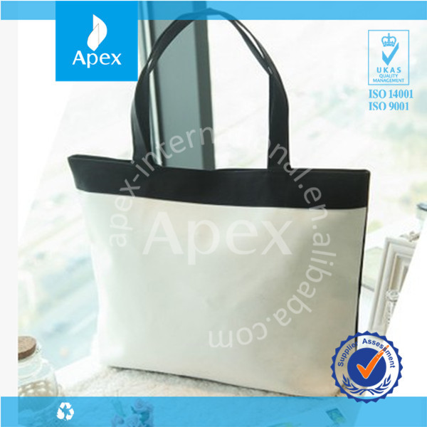 2014 Promotional high quality quilted tote bag