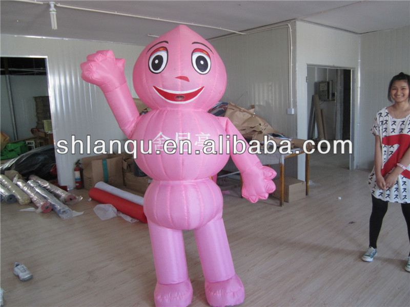 Cheap Advertising Inflatable Moving Cartoon for Sale
