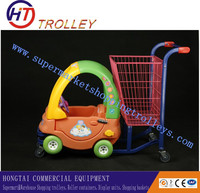 Plastic Children Shopping Cart Toy/Funny Kids Shopping Cart