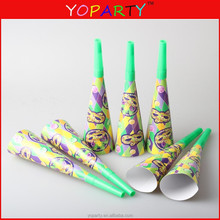 8-Inch Noise-Making Paper party Horns Manufacturer