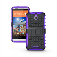 Hot Dual Layer Shockproof Heavy Duty Case for HTC Desire 510 Kickstand Back Cover Paypal Accepted