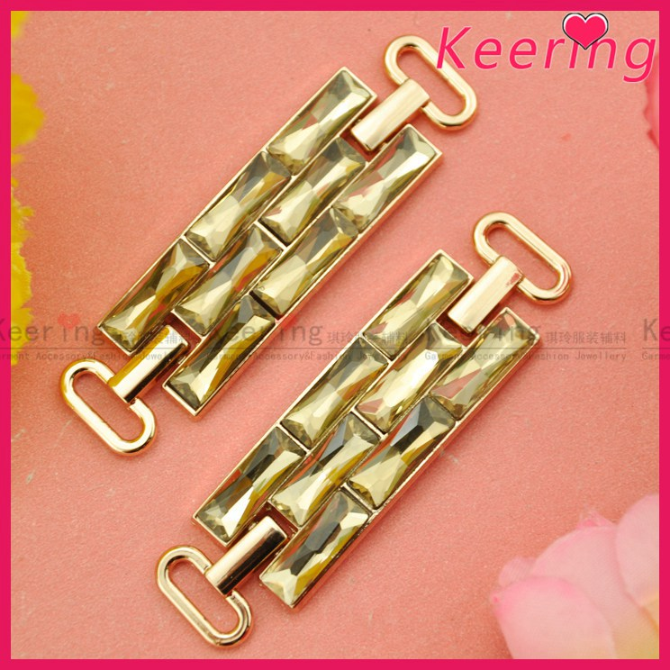 Wholesale bling shiny rhinestone buckles for ladies WCK--025