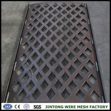 steel rod/dyn nut/coupler/anchor plate sas950/1050 alibaba china factory price steel grid plate perforated plastic mesh panel