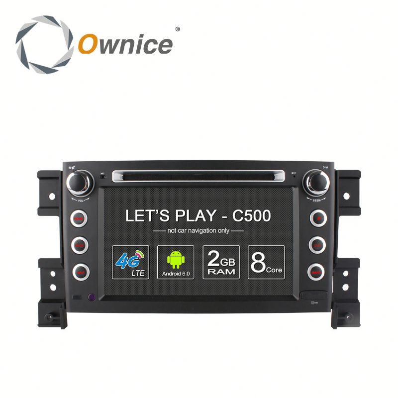 Ownice Android 6.0 touch screen Stereo DVD GPS radio for SUZUKI Grand Vitara with dvd wifi bluetooth GPS rds