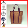 Hot Sell Vintage Waxed Canvas Tote Bag with Backpack Straps(ESX-LB065)