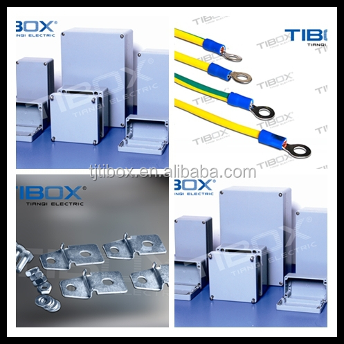 IP66 aluminium tool box for electrical industry, TIBOX brand or no brand