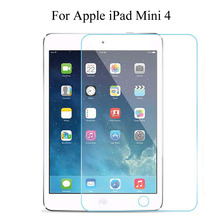 9H Hardness Anti-Explosion Tempered Glass Screen Protector 2.5D 0.3mm Film Guard For Apple iPad Mini 4