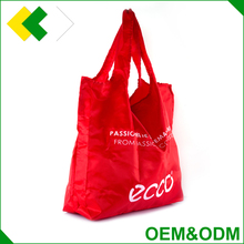 OEM&ODM foldable shopping bag high quality heavy duty drawstring bag polyester