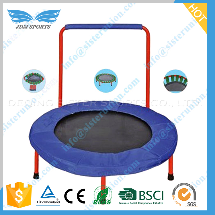 Popular style new trend deqing supplies high quality kids trampoline/jumping bed