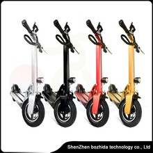 folding skateboard motor 2 wheel electric standing scooter foldable