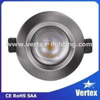 High quality Hong Kong Lighting fair adjustable cob led downlight china