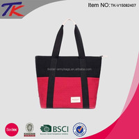 Wholesale Reusable Canvas Shopping Bags Tote Bag with OEM ODM