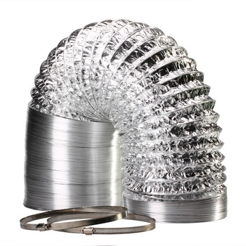 Extraction  Fan Flexible Air Ducting House Aluflex Ductw/o Clips