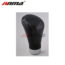 Universal Manual Car Truck Black Leather Gear Stick Shift Knob Cover