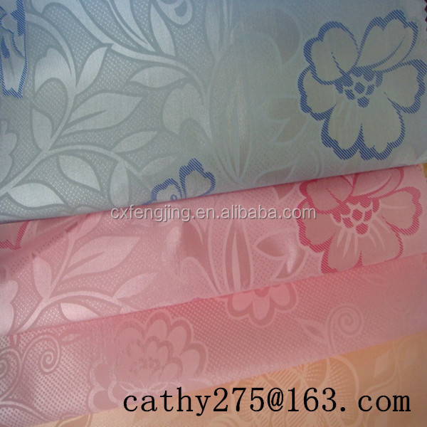 100%polyester printed tricot fabric for mattress/bed sheet/bedding/curtain Upholstery