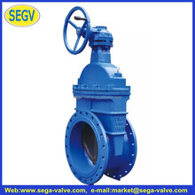 DIN Standard Electric Gear Box Gate Valve
