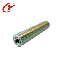 Pulley/Rubber lagging steel conveyor roller head pulley