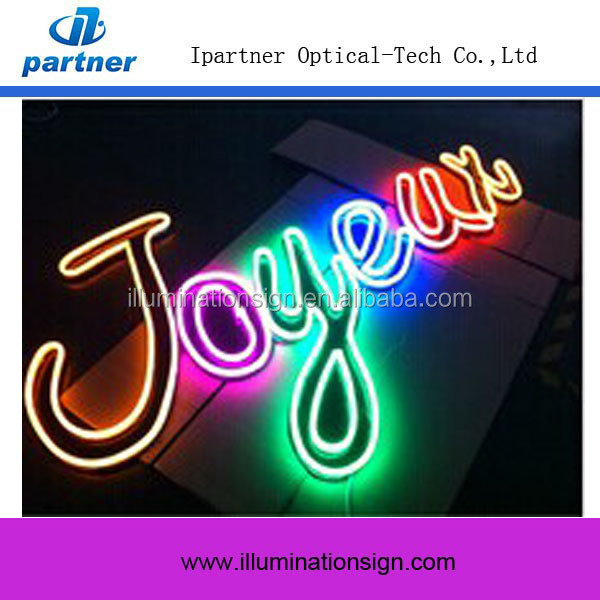 New Type Color Changing Led Neon Rope Light, RGB Led Neon Rope