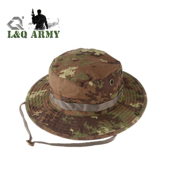 military Combat Camo Army Military Boonie Bush Jungle Sun Hat Outdoor Hiking Fishing Cap